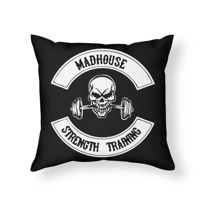 Accessories Home Throw Pillow by madhousestrengthtraining's Artist Shop