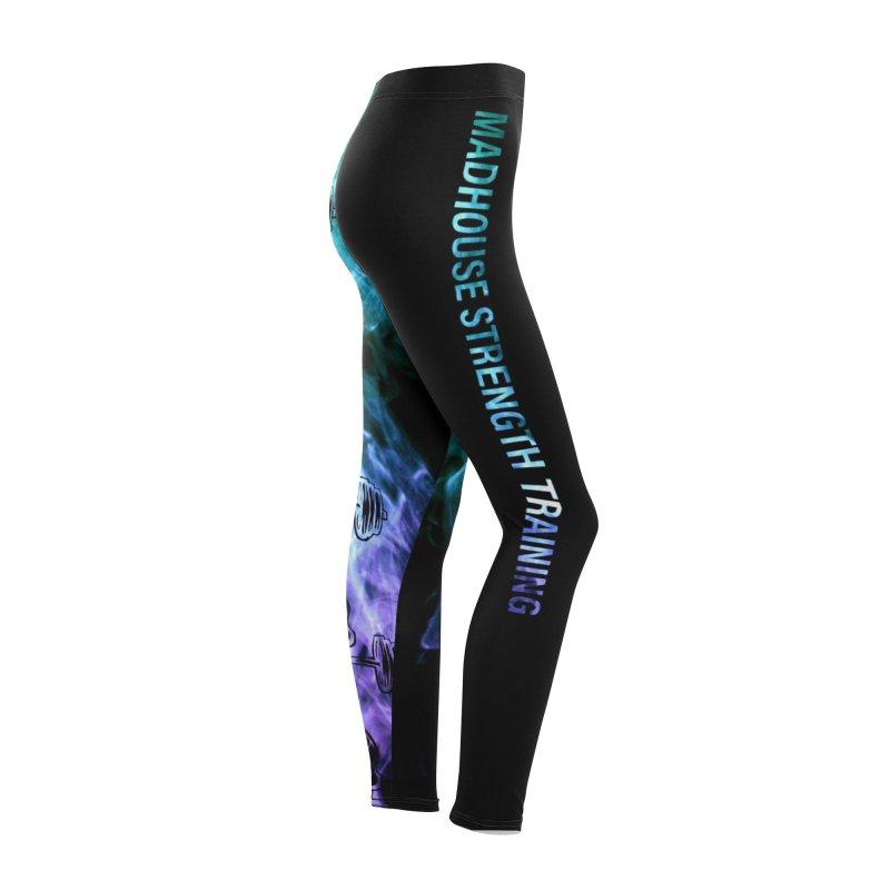 leggings Women's Bottoms by madhousestrengthtraining's Artist Shop
