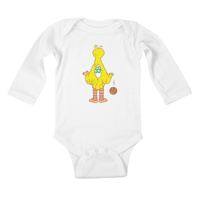 Larry Kids Baby Longsleeve Bodysuit by madhousetees's Artist Shop
