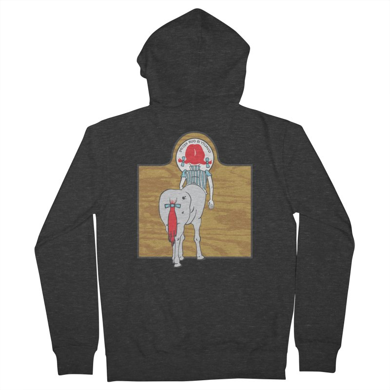 Wendy Women's French Terry Zip-Up Hoody by madhousetees's Artist Shop