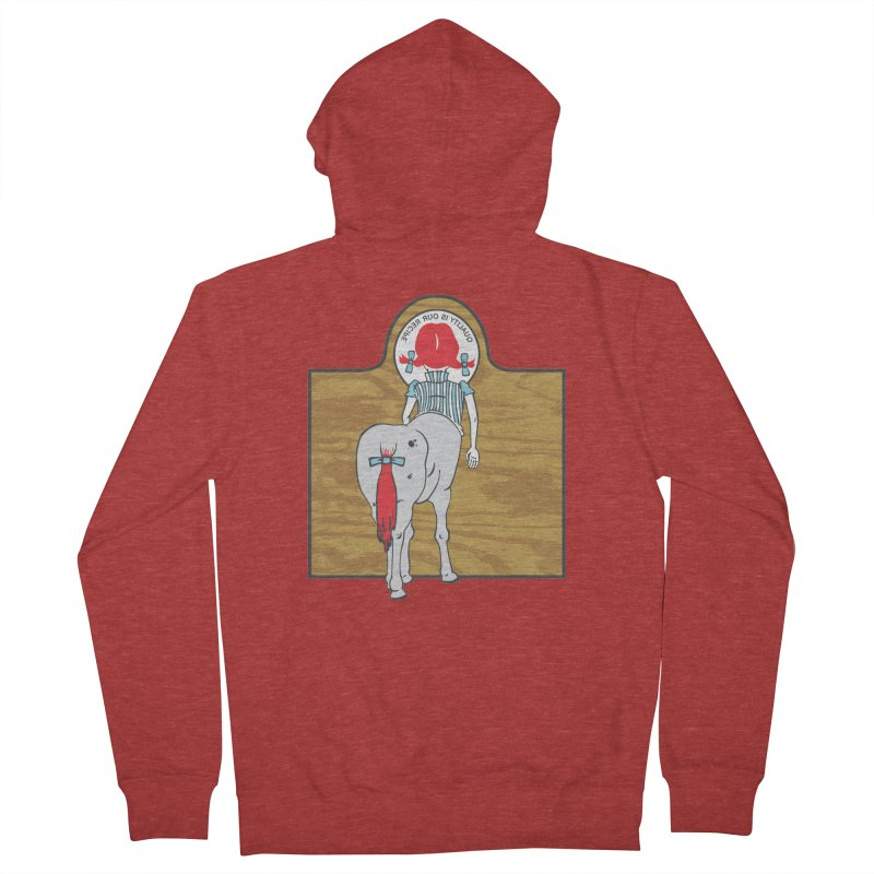 Wendy Men's French Terry Zip-Up Hoody by madhousetees's Artist Shop
