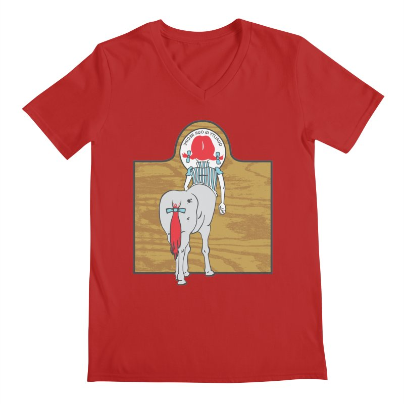 Wendy Men's V-Neck by madhousetees's Artist Shop