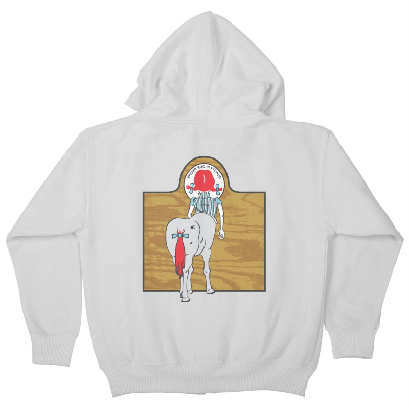 Wendy Kids Zip-Up Hoody by madhousetees's Artist Shop
