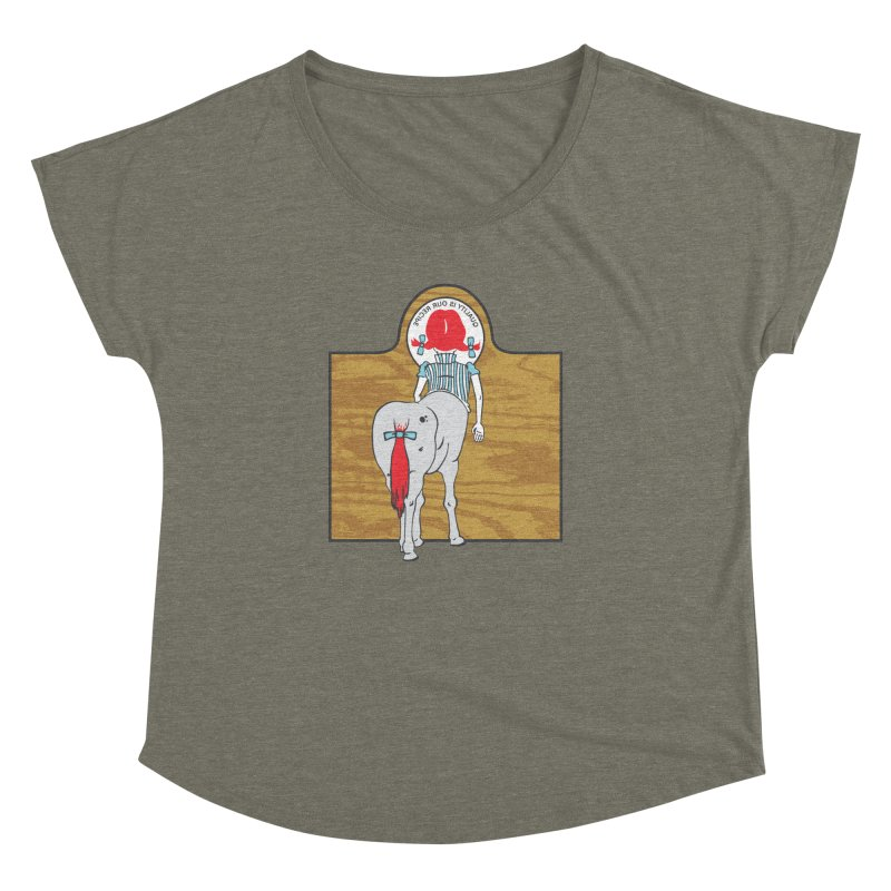 Wendy Women's Dolman Scoop Neck by madhousetees's Artist Shop