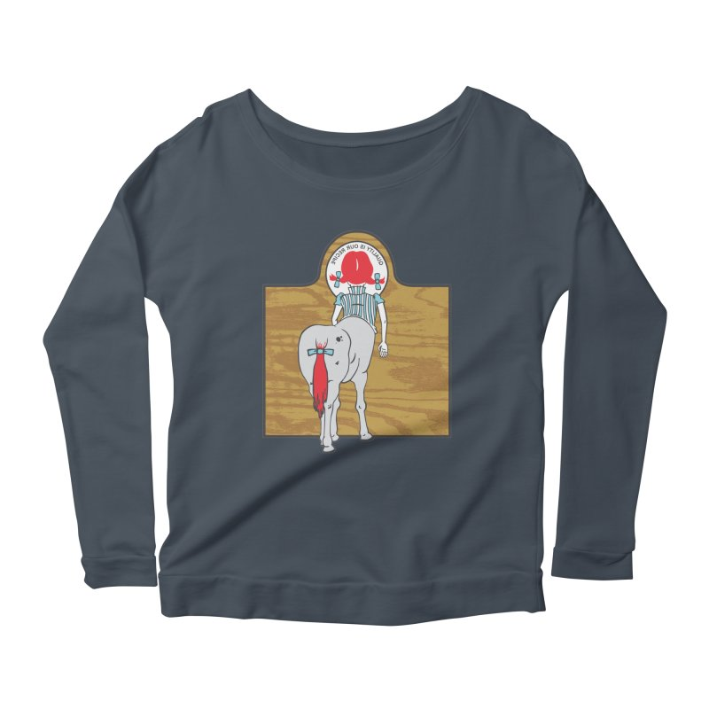 Wendy Women's Scoop Neck Longsleeve T-Shirt by madhousetees's Artist Shop