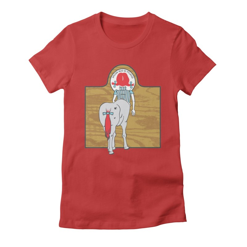 Wendy Women's Fitted T-Shirt by madhousetees's Artist Shop