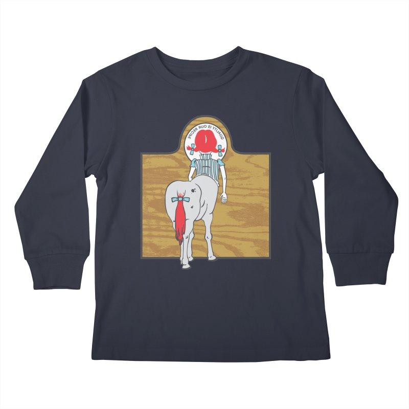 Wendy Kids Longsleeve T-Shirt by madhousetees's Artist Shop