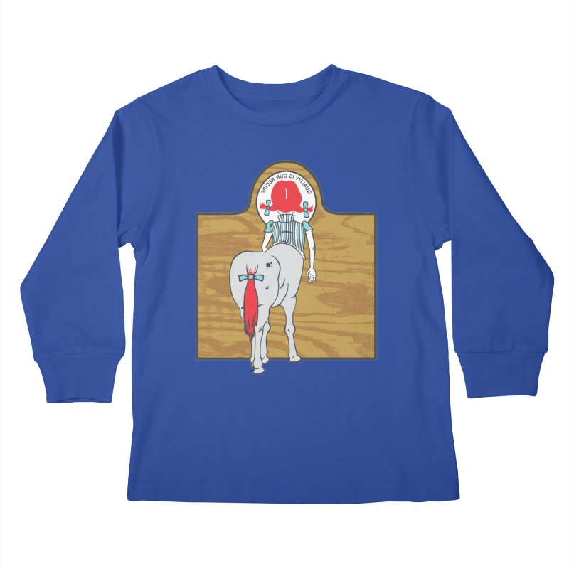 Wendy Kids Longsleeve T-Shirt by madhousetees's Artist Shop
