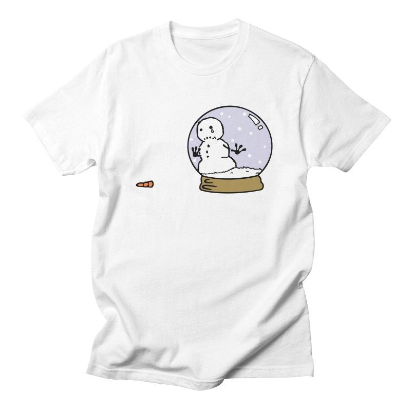 Snowman Men's T-Shirt by madhousetees's Artist Shop