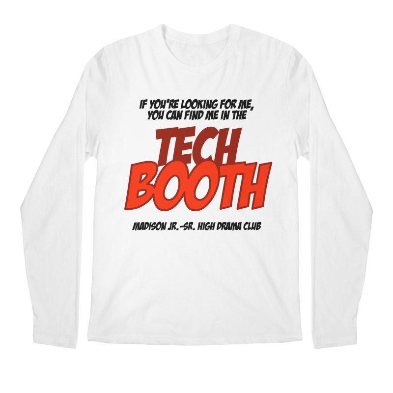 Tech Booth Light in Men's Regular Longsleeve T-Shirt White by MadisonArts Online Shop