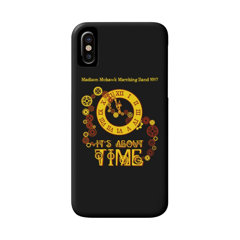 It's About Time in iPhone X / XS Phone Case Slim by MadisonArts Online Shop