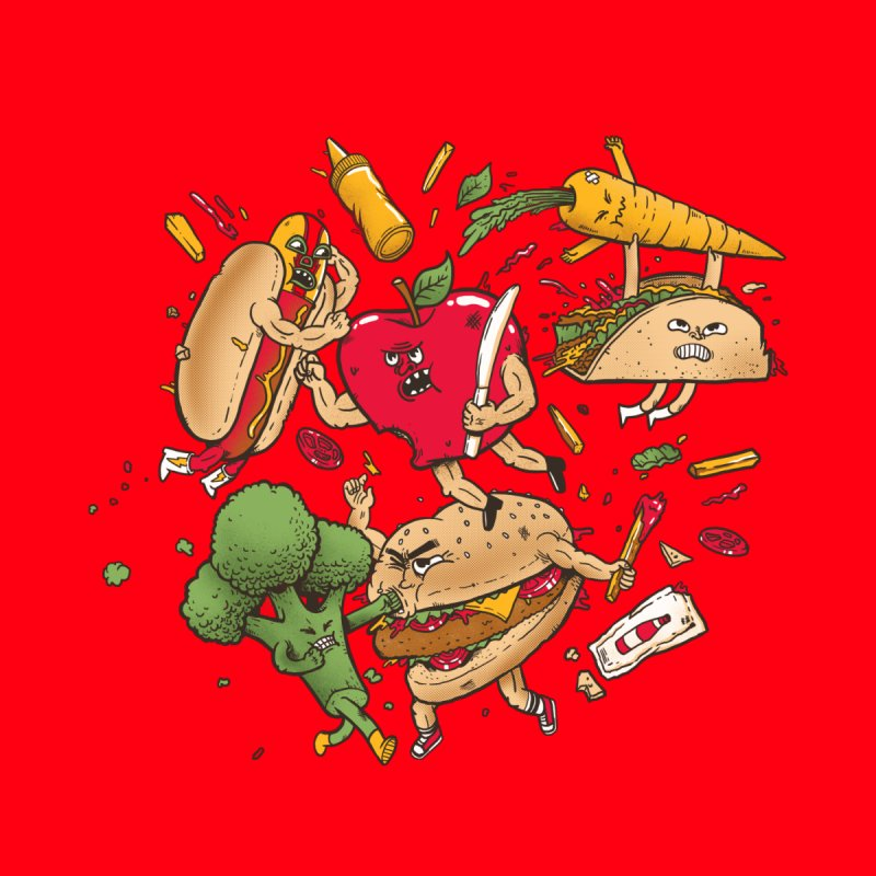 Food Fight   by MadKobra