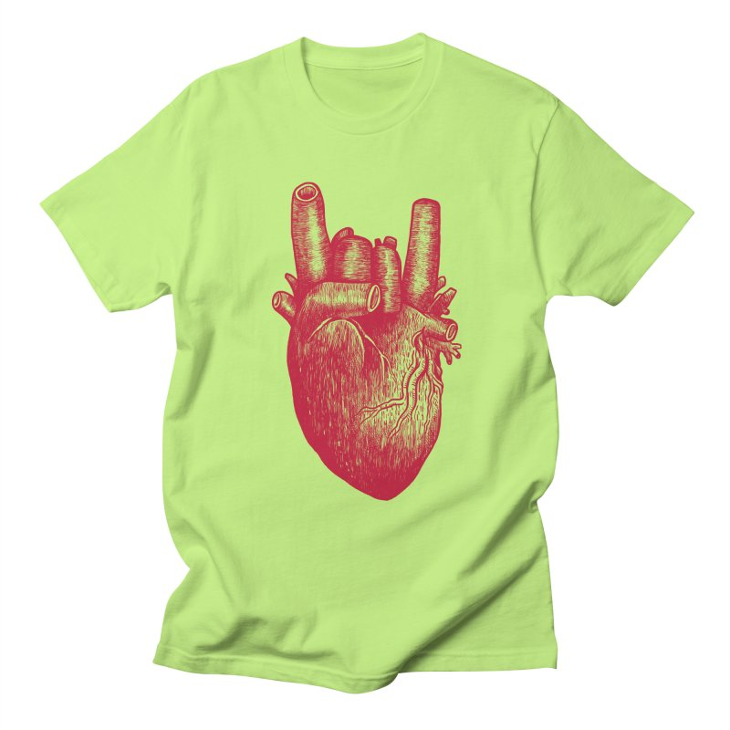 Party heart Men's Regular T-Shirt by MadKobra
