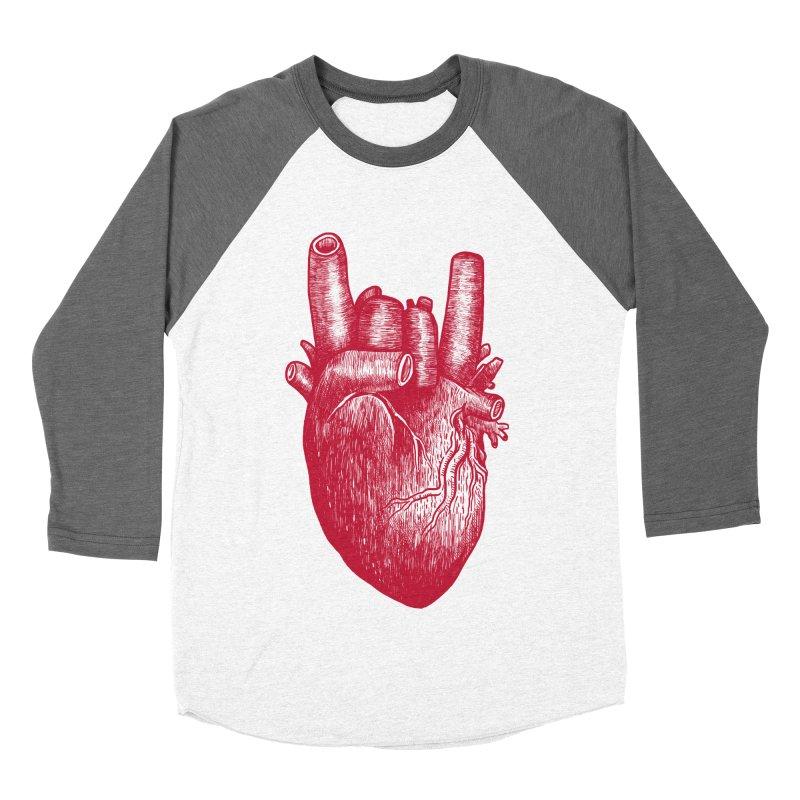 Party heart Women's Baseball Triblend Longsleeve T-Shirt by MadKobra