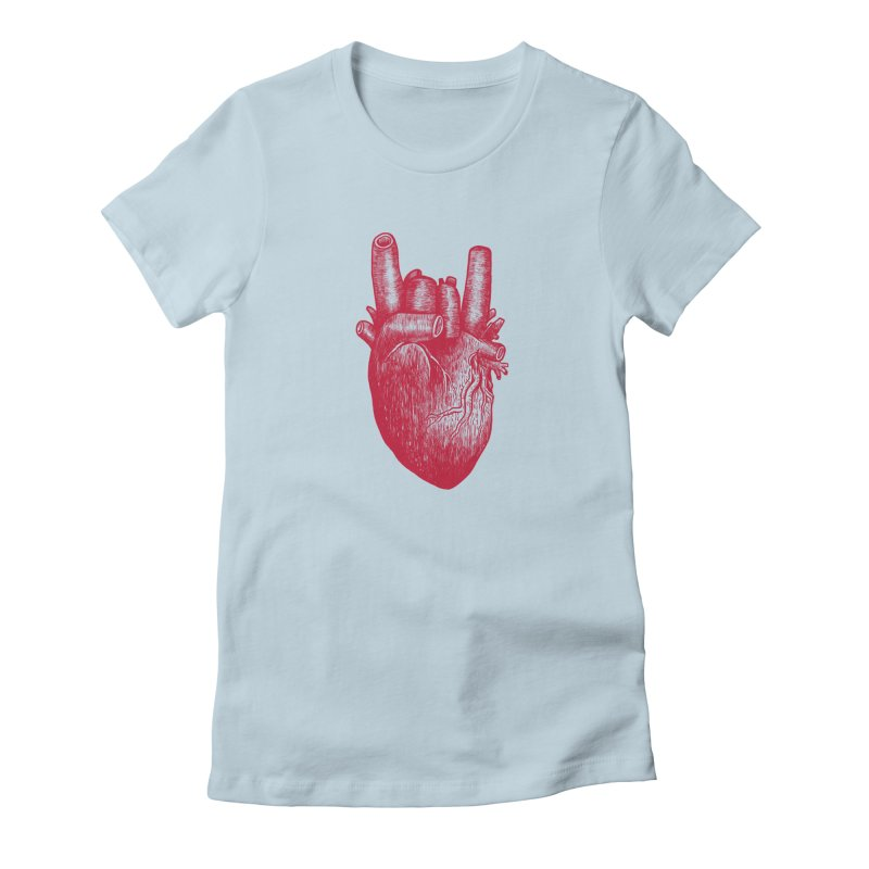 Party heart Women's T-Shirt by MadKobra