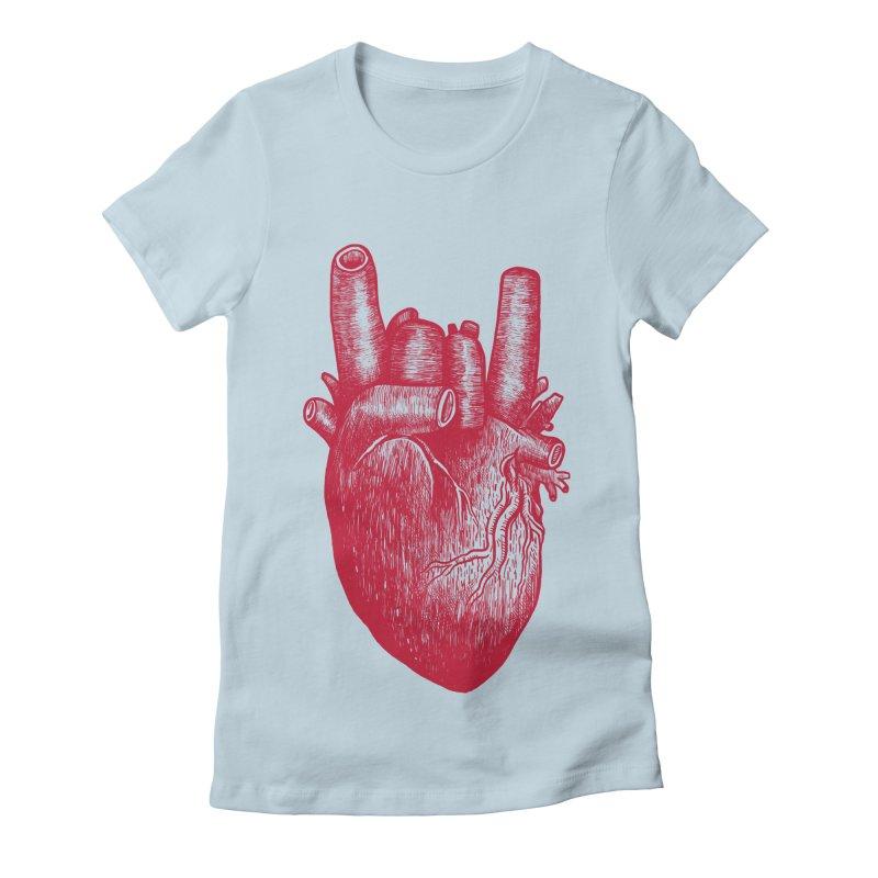 Party heart Women's T-Shirt by MadKobra