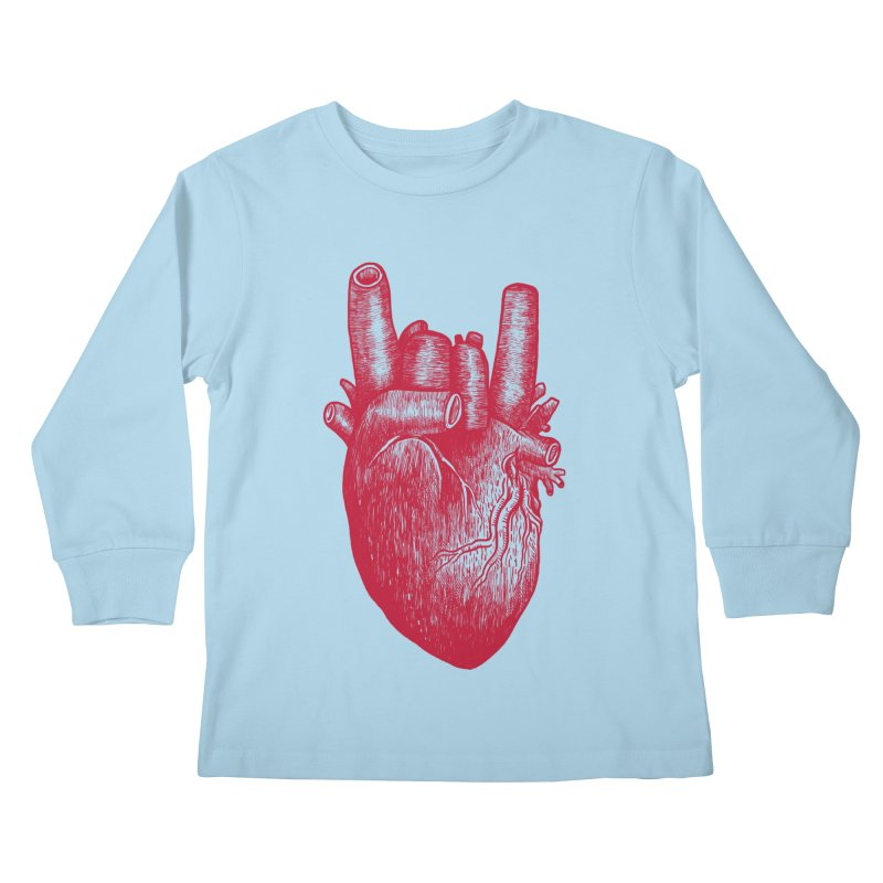 Party heart Kids Longsleeve T-Shirt by MadKobra