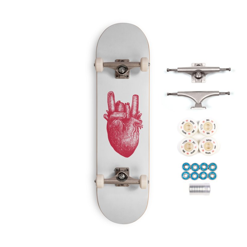 Party heart Accessories Complete - Premium Skateboard by MadKobra