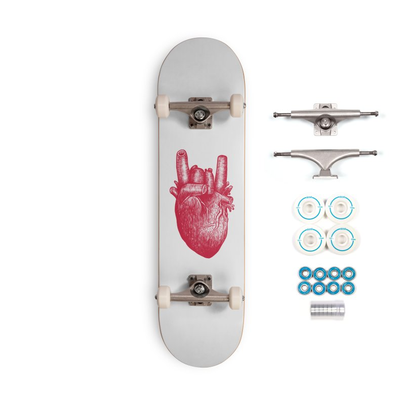 Party heart Accessories Complete - Basic Skateboard by MadKobra