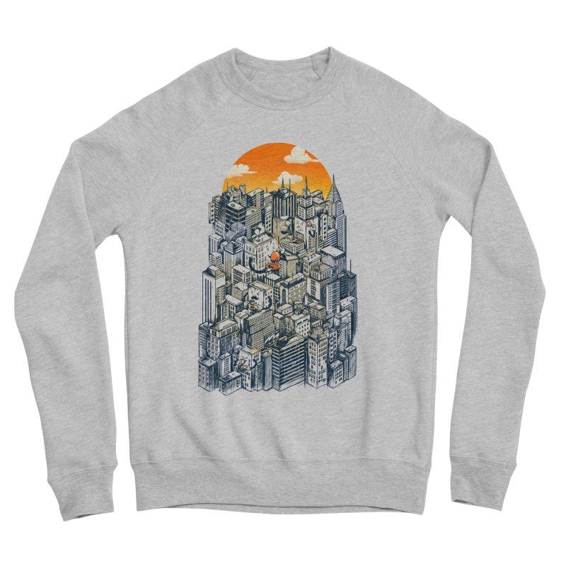 The city that never sleeps takes a break Women's Sponge Fleece Sweatshirt by MadKobra