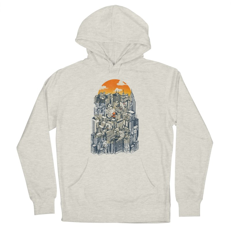 The city that never sleeps takes a break Men's Pullover Hoody by MadKobra
