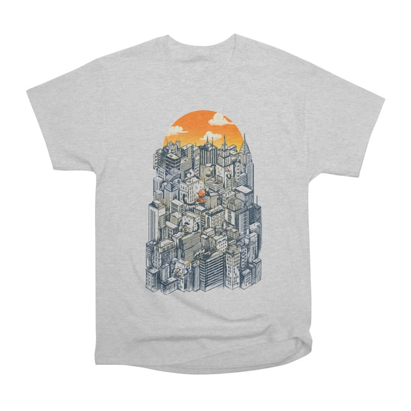 The city that never sleeps takes a break Men's Heavyweight T-Shirt by MadKobra