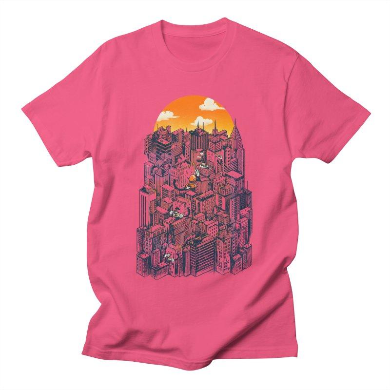 The city that never sleeps takes a break Women's Regular Unisex T-Shirt by MadKobra