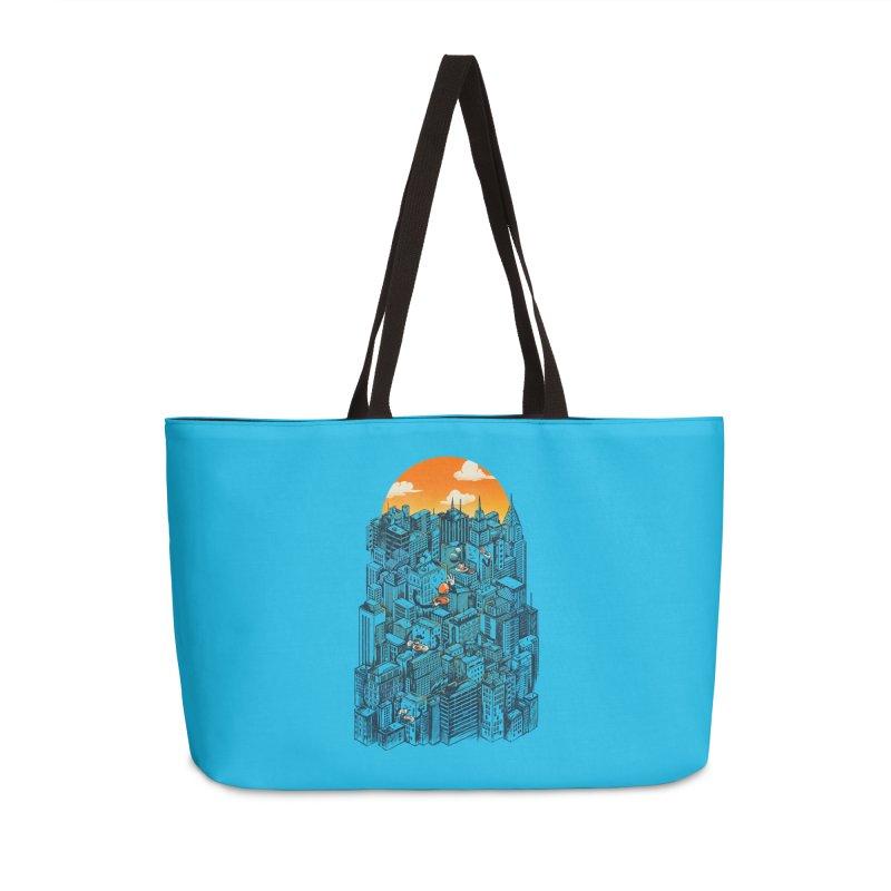The city that never sleeps takes a break Accessories Weekender Bag Bag by MadKobra