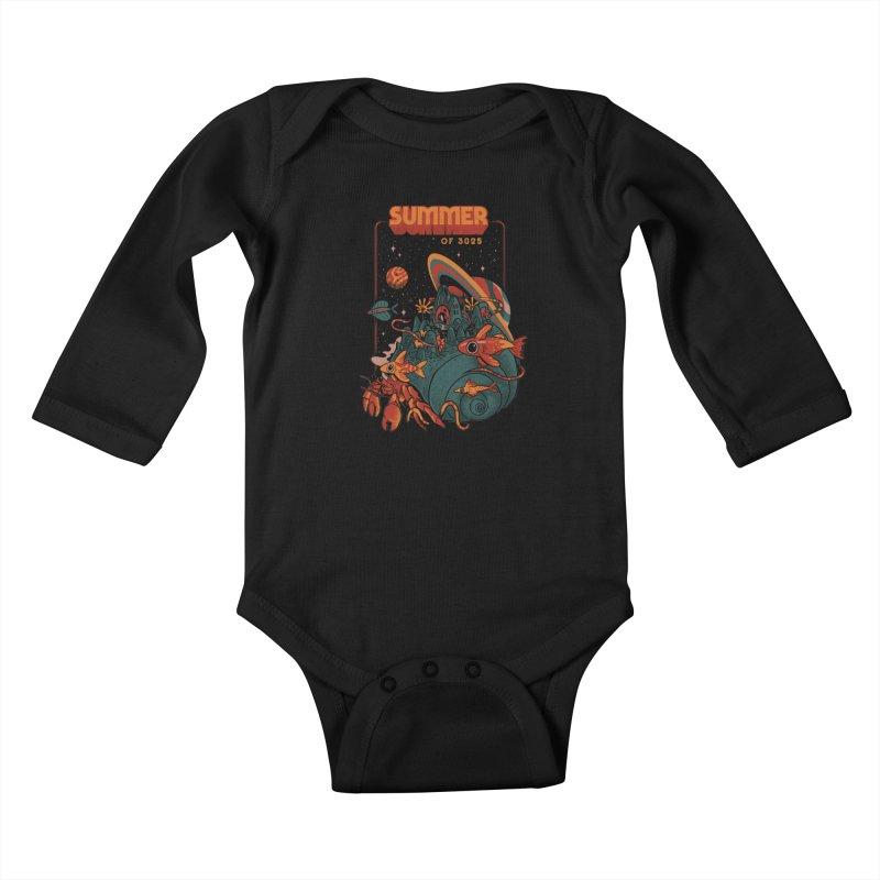 Summer Magic of 3025 Kids Baby Longsleeve Bodysuit by MadKobra