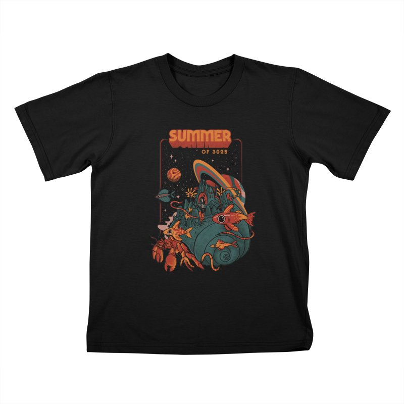 Summer Magic of 3025 Kids T-Shirt by MadKobra