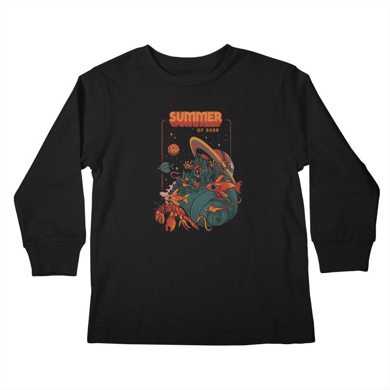 Summer Magic of 3025 Kids Longsleeve T-Shirt by MadKobra