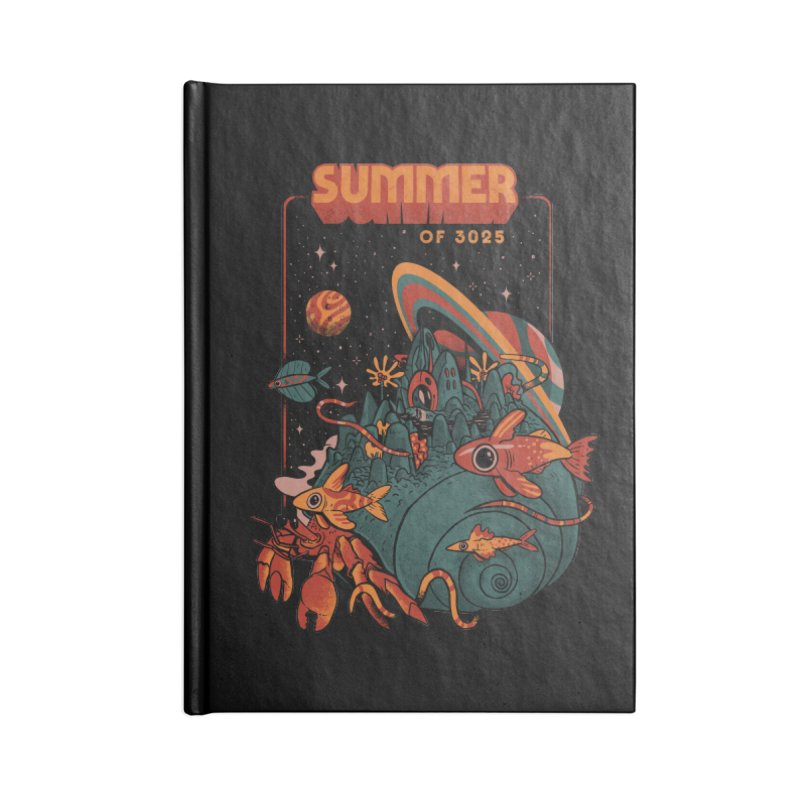 Summer Magic of 3025 Accessories Lined Journal Notebook by MadKobra