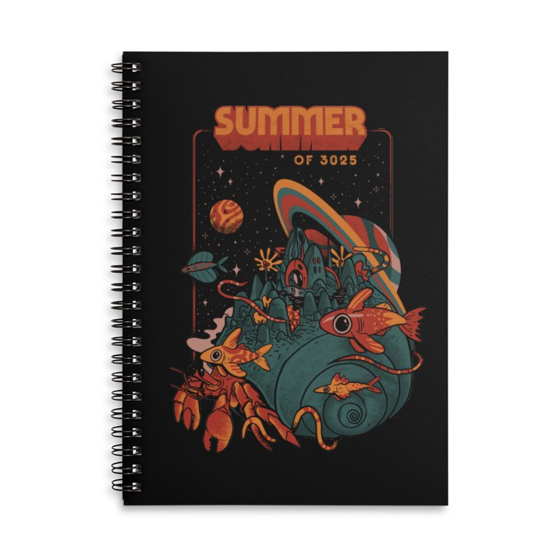 Summer Magic of 3025 Accessories Lined Spiral Notebook by MadKobra