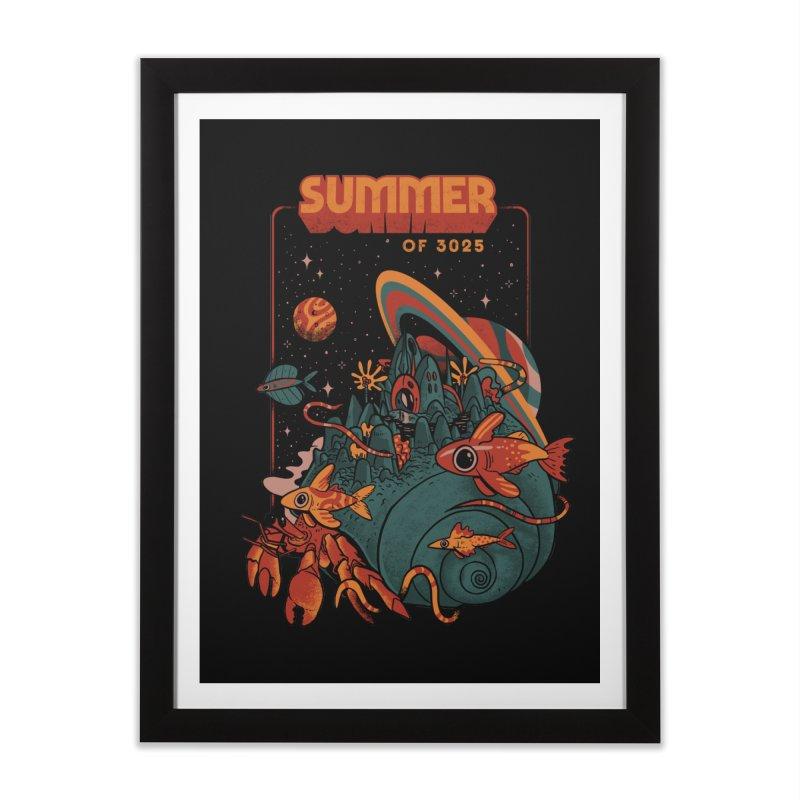 Summer Magic of 3025 Home Framed Fine Art Print by MadKobra