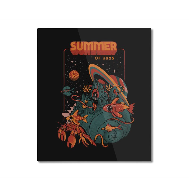 Summer Magic of 3025 Home Mounted Aluminum Print by MadKobra