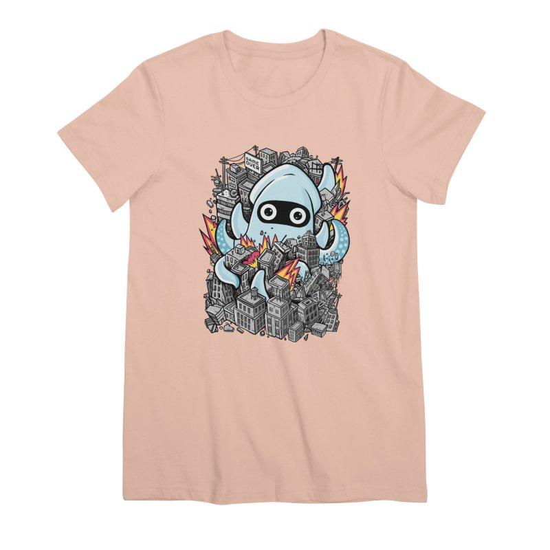 Tentacle attack Women's Premium T-Shirt by MadKobra