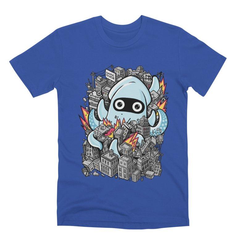 Tentacle attack Men's Premium T-Shirt by MadKobra