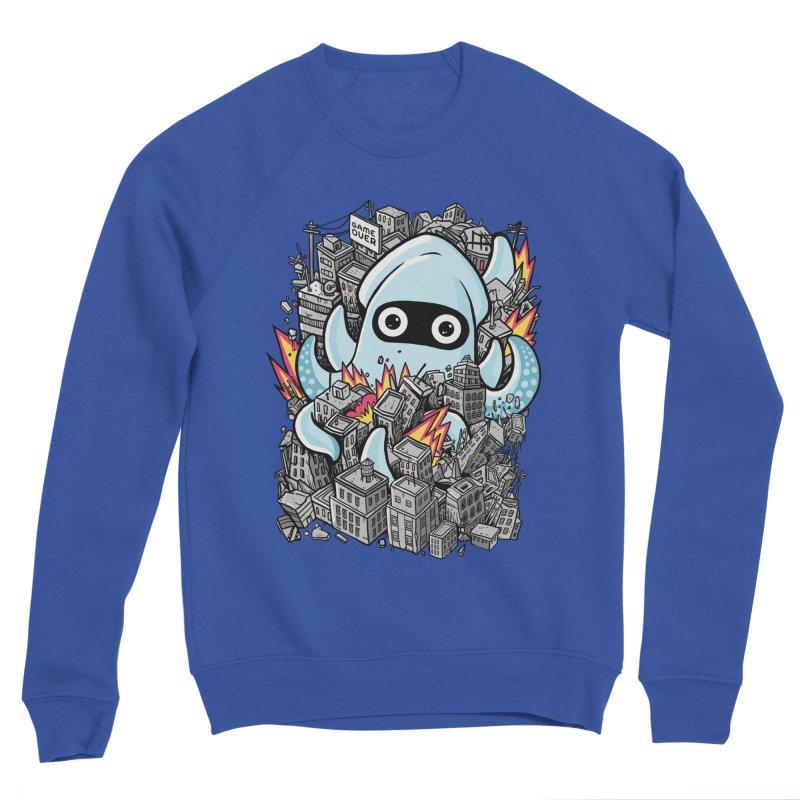 Tentacle attack Men's Sponge Fleece Sweatshirt by MadKobra
