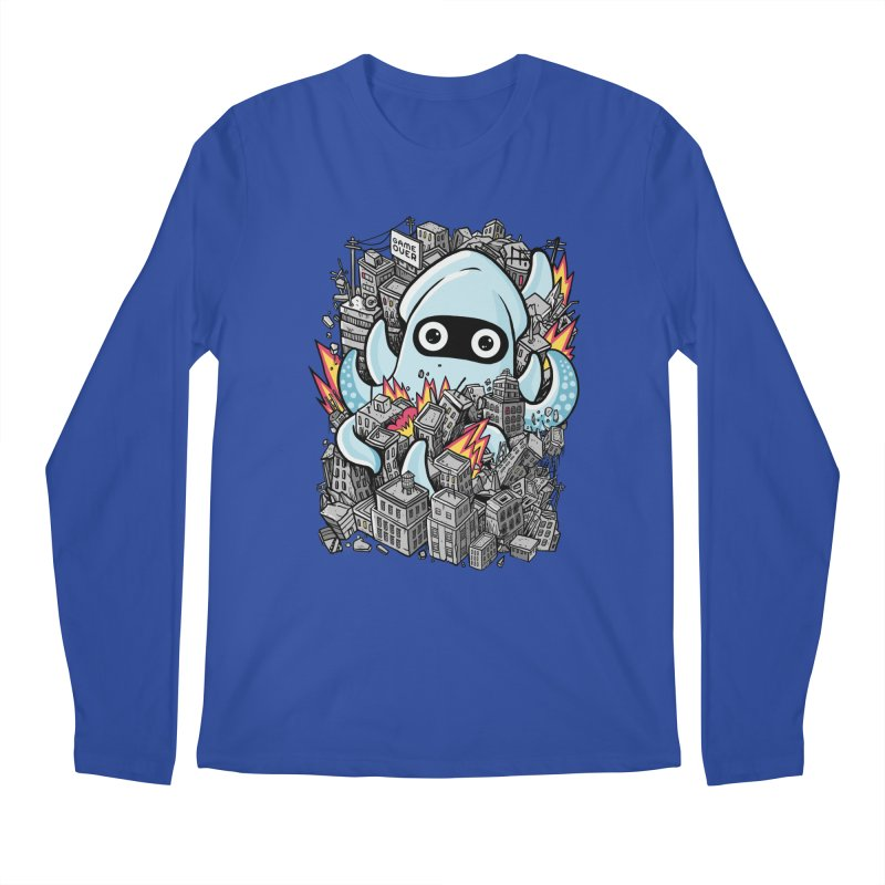 Tentacle attack Men's Longsleeve T-Shirt by MadKobra
