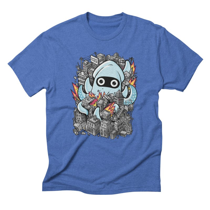 Tentacle attack Men's T-Shirt by MadKobra