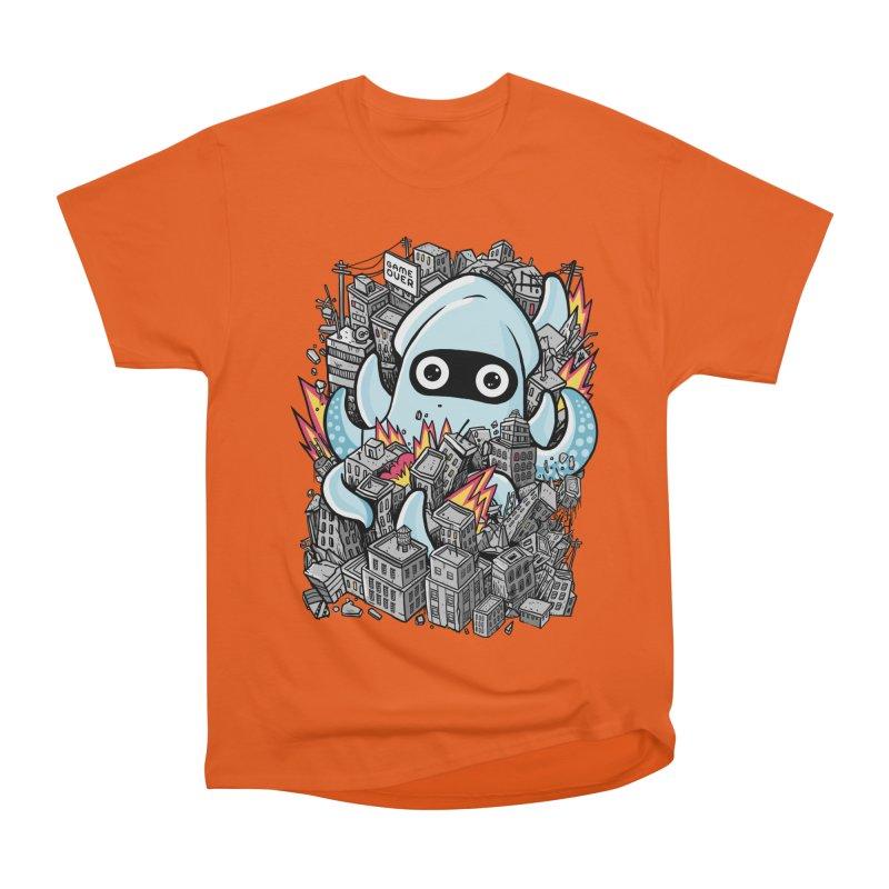 Tentacle attack Men's Heavyweight T-Shirt by MadKobra