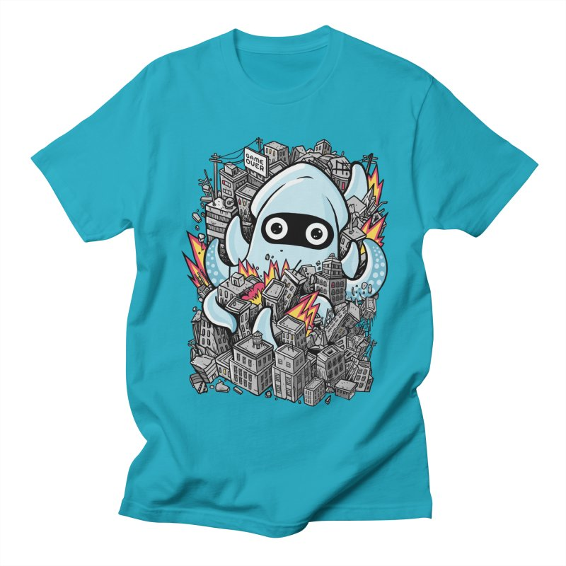 Tentacle attack Men's Regular T-Shirt by MadKobra