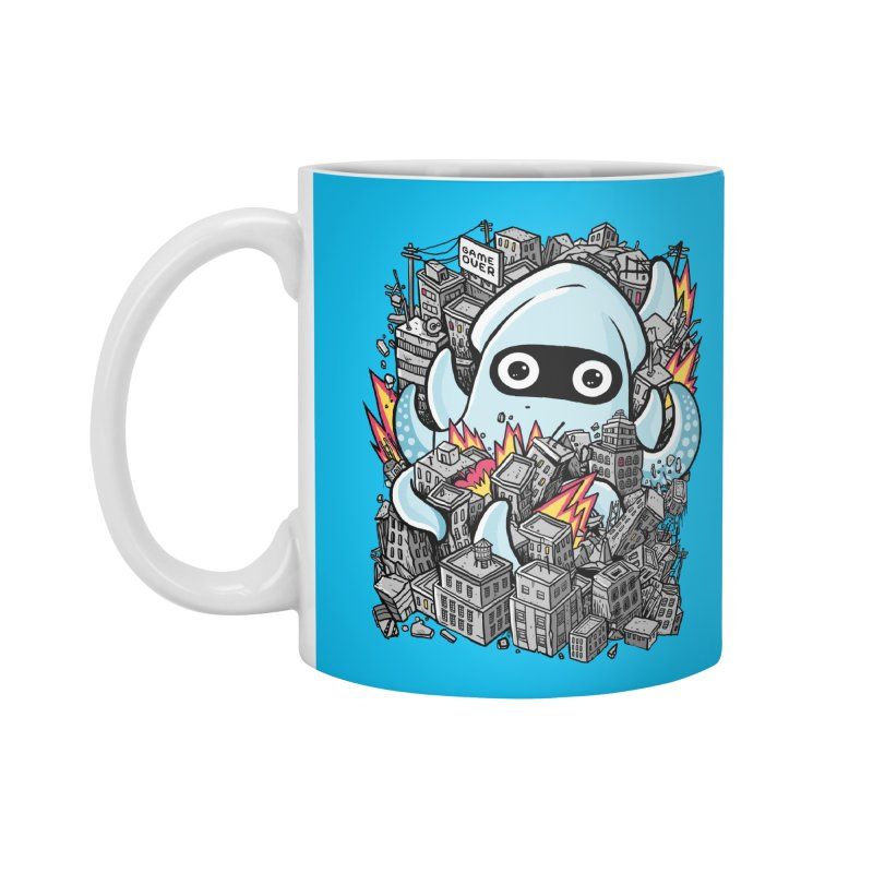 Tentacle attack Accessories Standard Mug by MadKobra