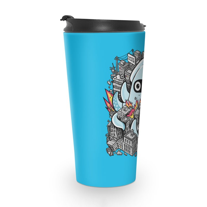 Tentacle attack Accessories Travel Mug by MadKobra