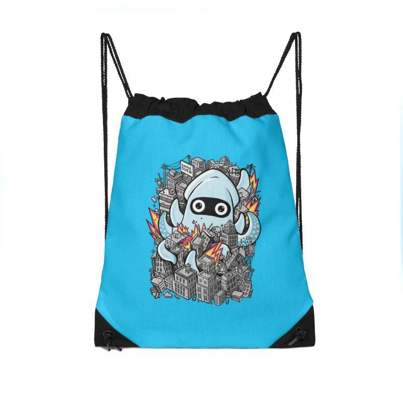 Tentacle attack Accessories Drawstring Bag Bag by MadKobra