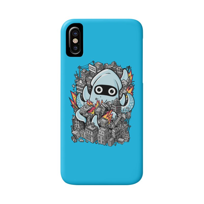 Tentacle attack Accessories Phone Case by MadKobra