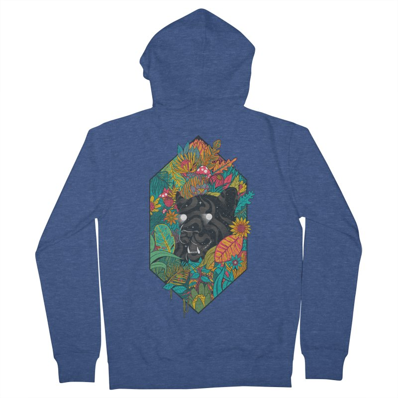 Ethereal Ambiance Women's French Terry Zip-Up Hoody by MadKobra