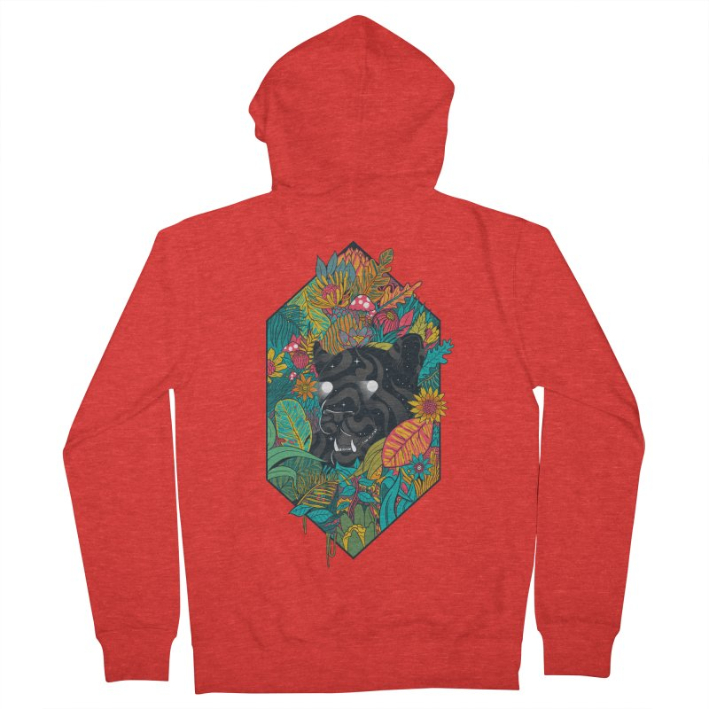 Ethereal Ambiance Men's Zip-Up Hoody by MadKobra