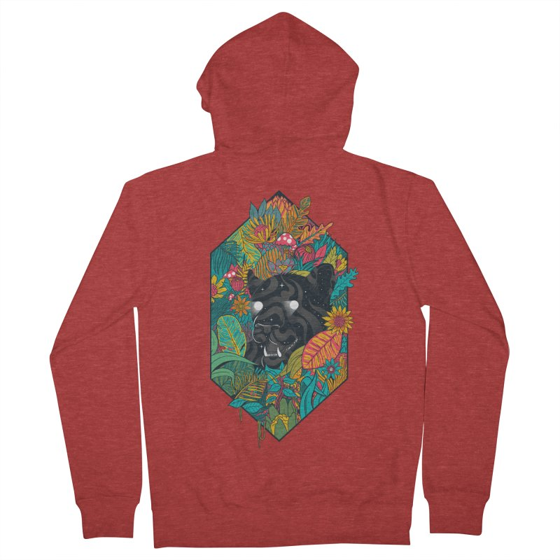 Ethereal Ambiance Men's French Terry Zip-Up Hoody by MadKobra