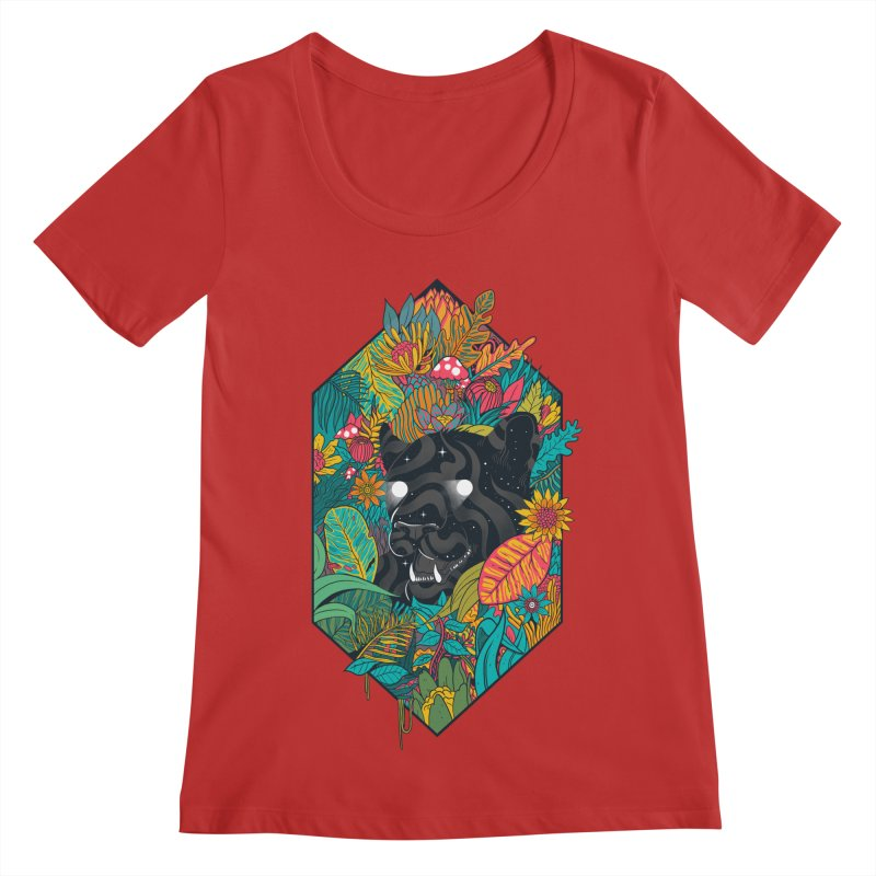 Ethereal Ambiance Women's Scoop Neck by MadKobra
